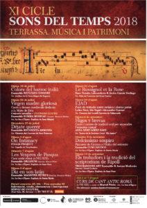 Concert Sons Del Temps 2018